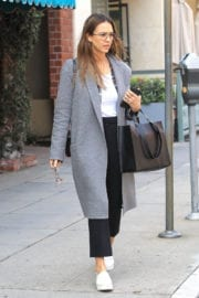 Jessica Alba Stills Out for Shopping in Beverly Hills