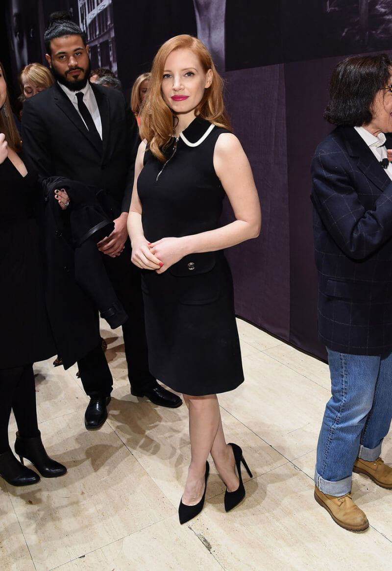 Jessica Chastain at Pirelli Calendar Presents: Peter Lindbergh on Beauty in New York