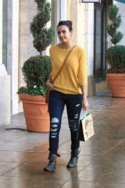 Jessica Lucas Out Shopping In Los Angeles