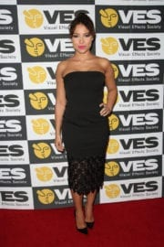 Jessica Parker Kennedy at 15th Annual Visual Effects Society Awards in Beverly Hills