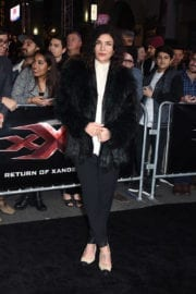 Jessica Szohr at 'xxx: The Return Of Xander Cage' Premiere in Hollywood