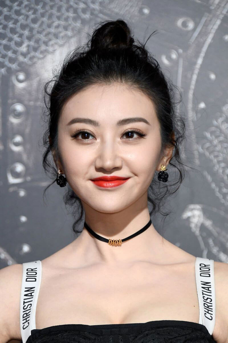 "Jing Tian Stills at ""The Great Wall"" Premiere in Hollywood"