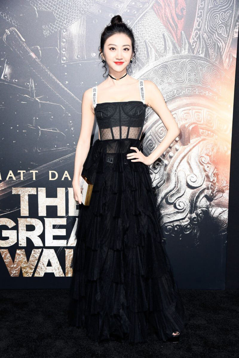"""Jing Tian Stills at """"The Great Wall"""" Premiere in Hollywood"""