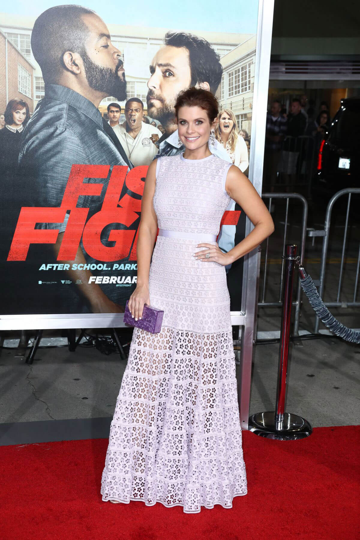 Joanna Garcia at 'Ffist Fight' Premiere in Westwood