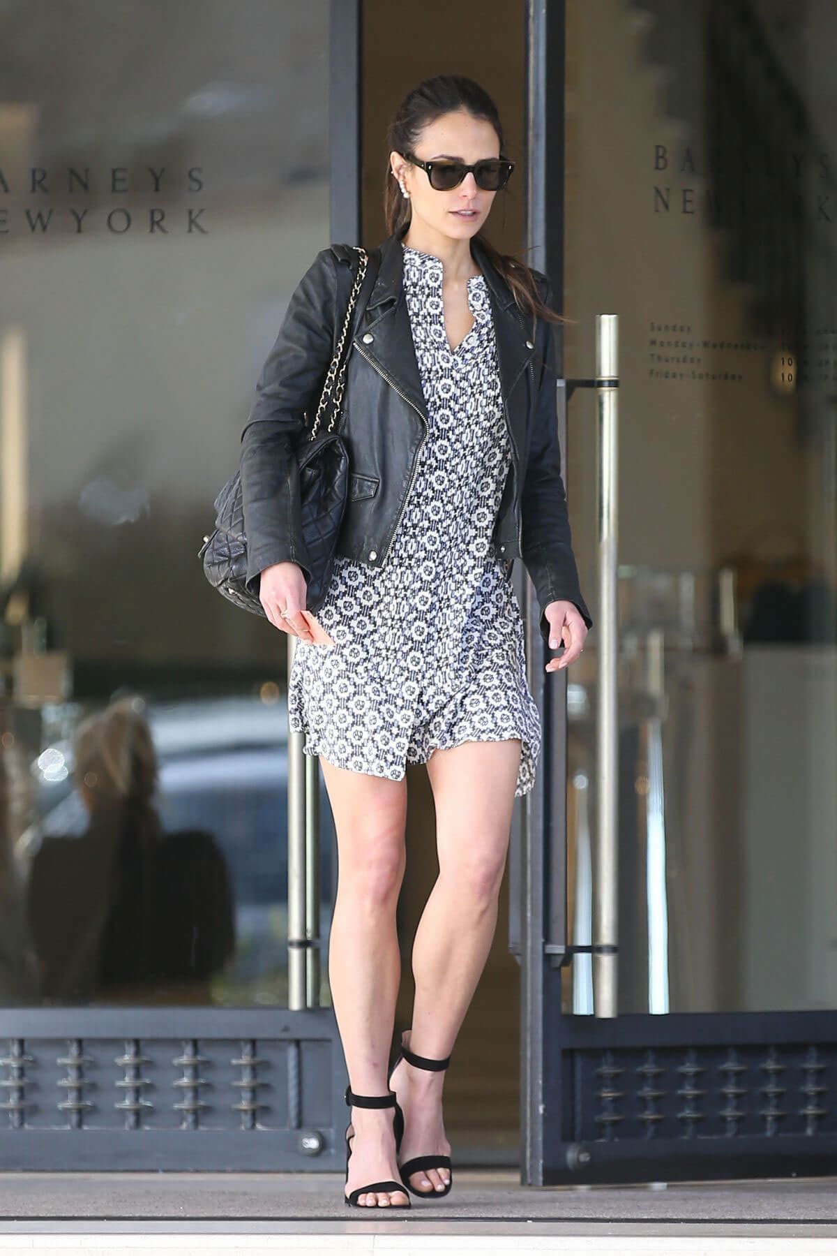 Jordana Brewster Out Shopping in Beverly Hills