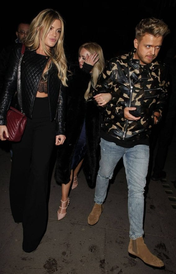 Jorgie Porter Stills Leaves Tape Nightclub in London