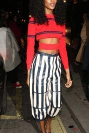 Jourdan Dunn Stills at Burberry Fashion Show After Party in London
