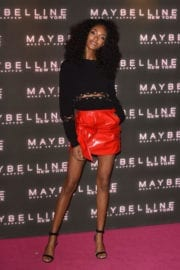 Jourdan Dunn Stills at Maybelline's Bring on the Night Party in London