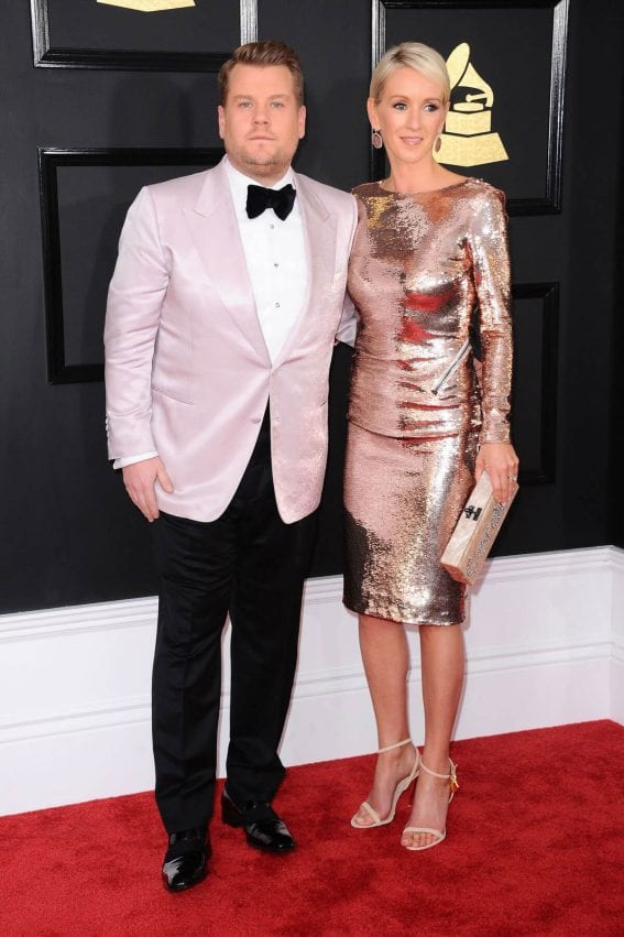 Julia Carey at 59th Annual Grammy Awards in Los Angeles