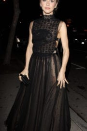 Julianne Hough Arrives at Dior Party in West Hollywood