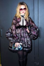 Juno Temple Stills at Marc Jacobs show Fashion Show at New York Fashion Week