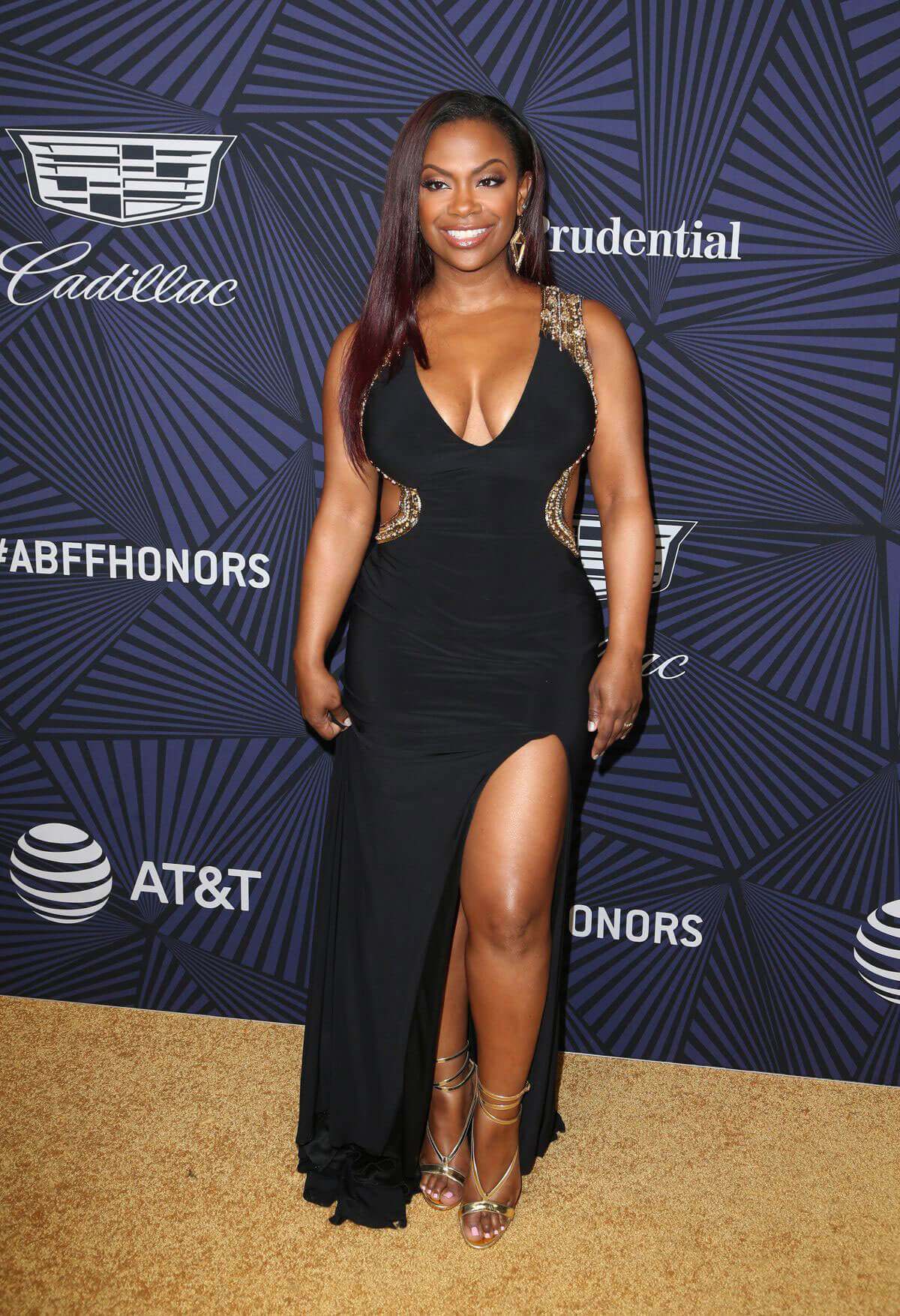 Kandi Burruss Stills at Bet's 2017 American Black Film Festival Honors Awards