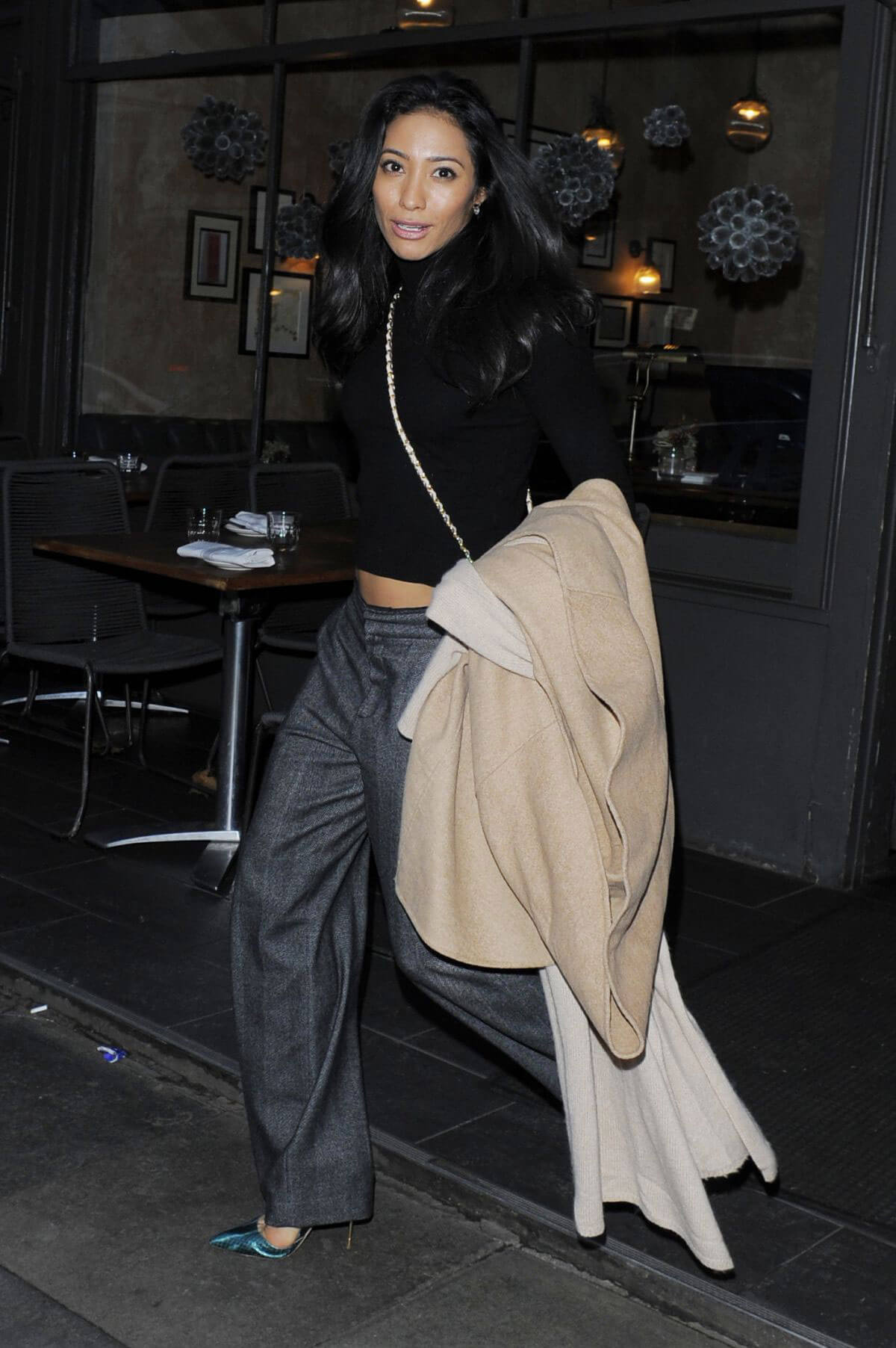 Karen Clifton Night Out In London