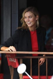 Karlie Kloss Out in Gustavia in St. Barths