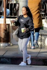 Karrueche Tran Out and About in West Hollywood