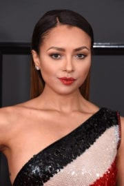 Kat Graham at 59th Annual Grammy Awards in Los Angeles