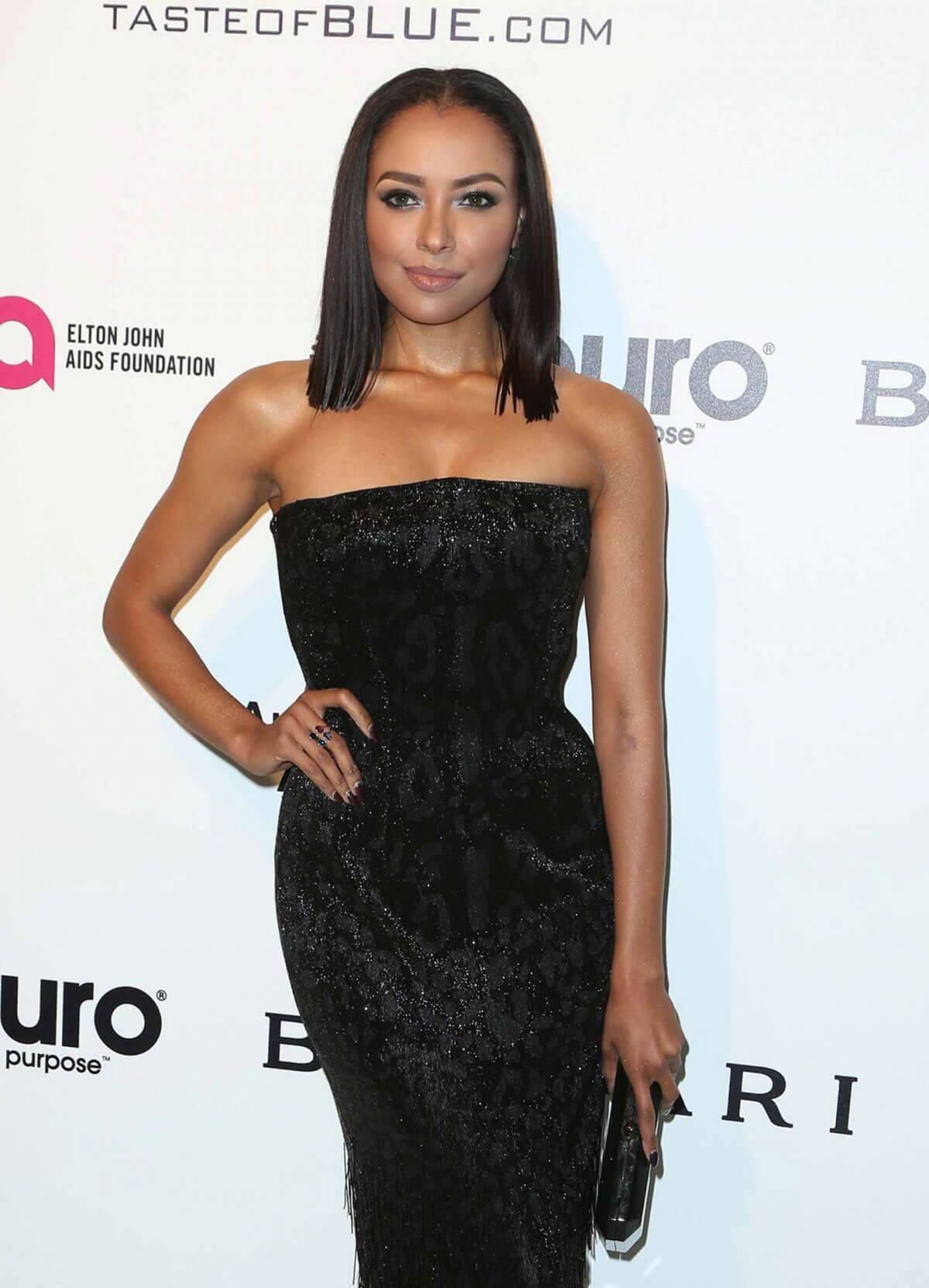 Kat Graham Photos at 25th Annual Elton John Aids Foundation's Oscar Party in Hollywood