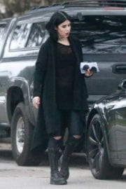 Kat Von D Out and About in Los Angeles