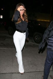 Kate Beckinsale Out for Dinner at Craig's in West Hollywood