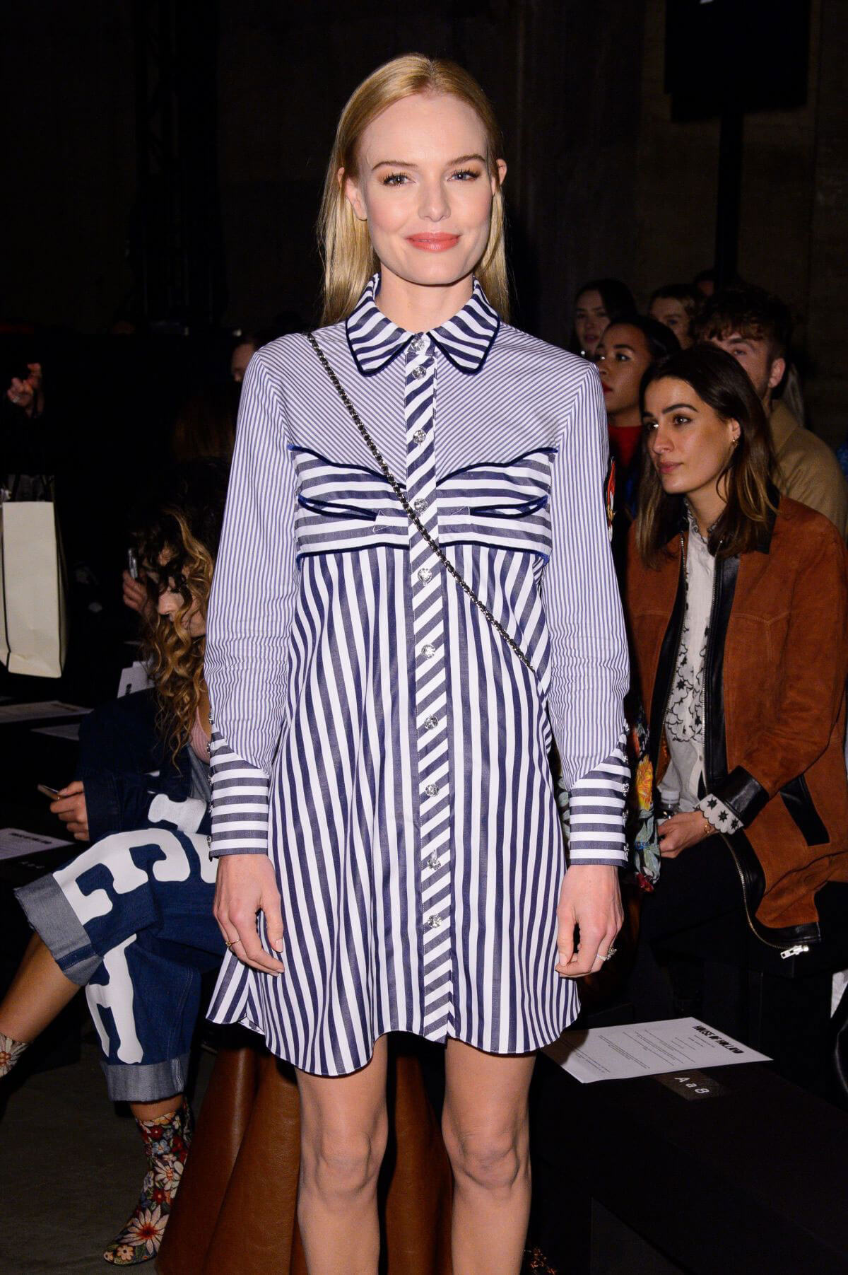 Kate Bosworth Stills at House of Holland Fashion Show in London