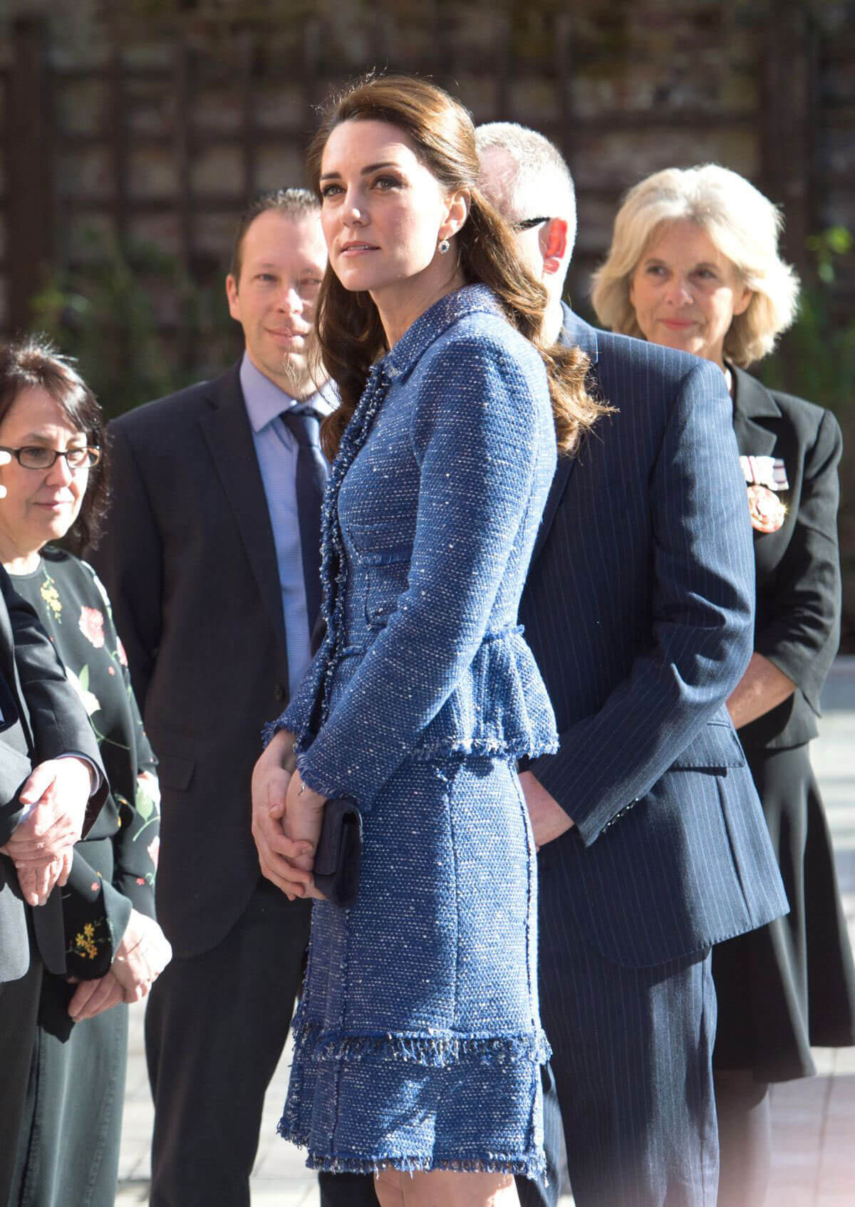 Kate Middleton Stills at Ronald McDonald House Evelina London in London