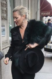 Kate Moss Stills Out and About in Milan