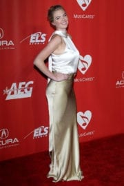 KATE UPTON at 59th Grammy Awards: MusiCares Person of the Year Honoring Tom Petty