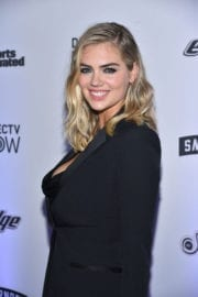 Kate Upton Stills at Sports Illustrated Swimsuit Edition Launch in New York