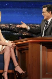 Kate Upton Stills at The Late Show with Stephen Colbert