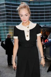 Kate Upton Stills Channeling French Maid Out in New York