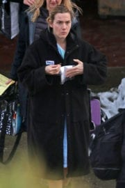 Kate Winslet at Eagle Ridge Hospital in Port Moody