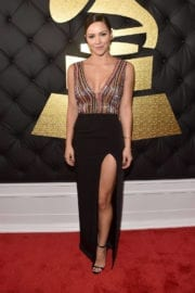 Katharine Mcphee at 59th Annual Grammy Awards in Los Angeles