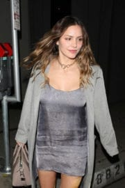 Katharine McPhee Stills Out for Dinner at Craig's Restaurant in West Hollywood