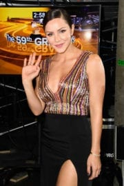 Katharine McPhee The 59th Grammy Awards in Los Angeles
