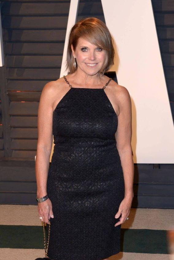 Katie Couric Photos at 2017 Vanity Fair Oscar Party in Beverly Hills