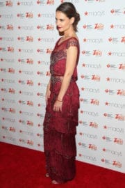Katie Holmes Stills at American Heart Association's Go Red for Women Red Dress