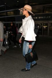 Katie Holmes Stills at LAX Airport in Los Angeles