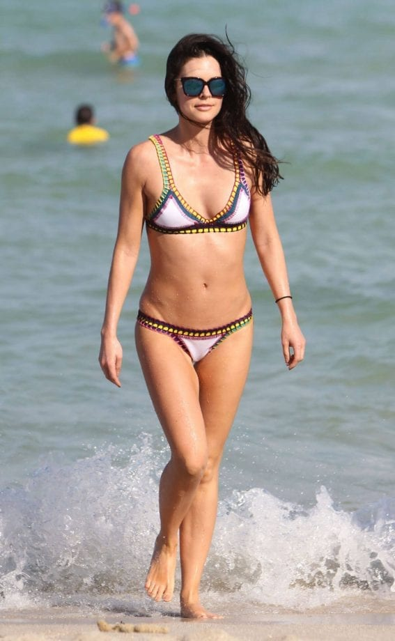 Katie Lee Photos in Bikini at a Beach in Miami