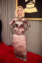 Katy Perry at 59th Annual Grammy Awards in Los Angeles