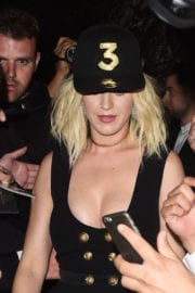 Katy Perry at Grammy After Party at Chateau Marmont in Los Angeles