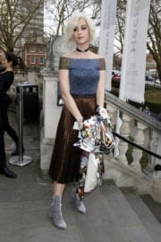 Katy Perry Stills at Christopher Kane Fashion Show at LFW in London
