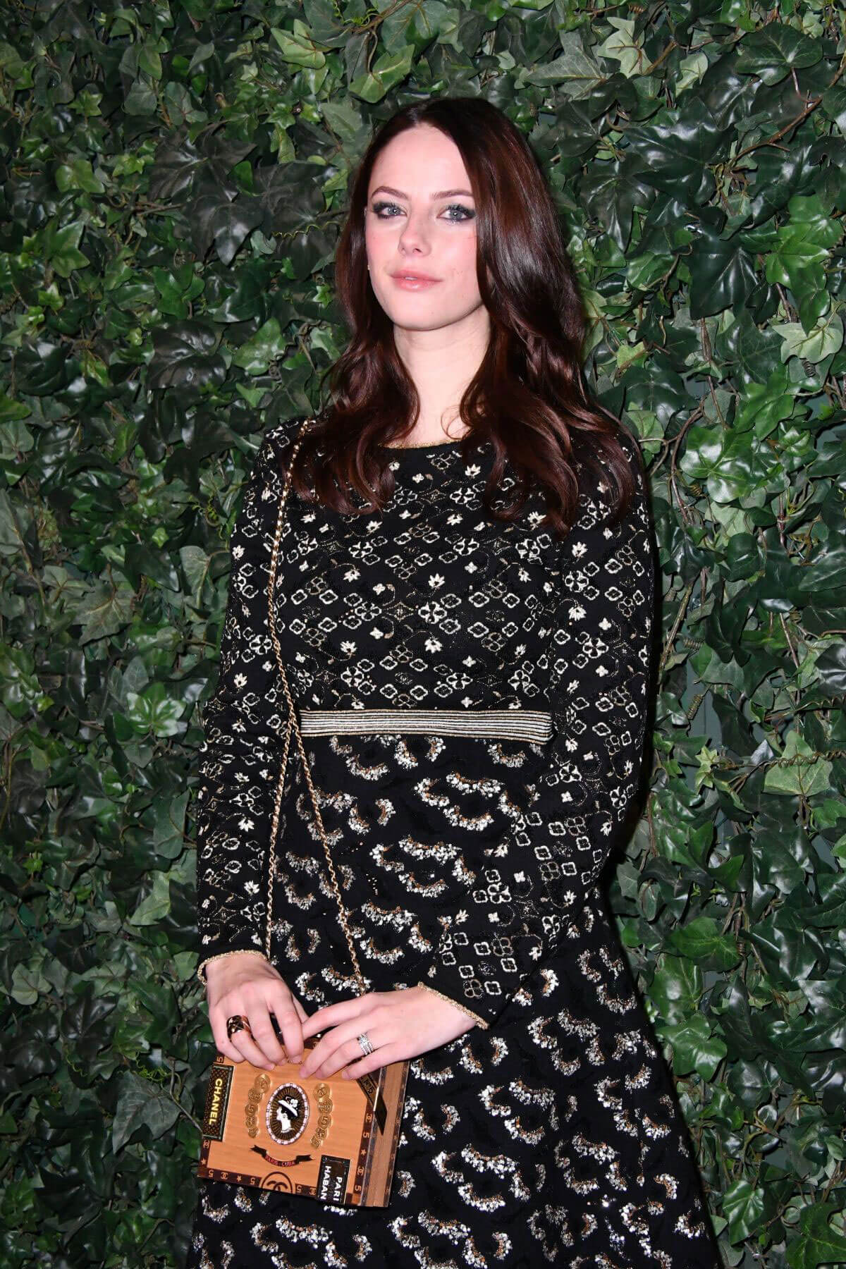 Kaya Scodelario Stills at Harvey Weinstein Pre Baftas Dinner in London