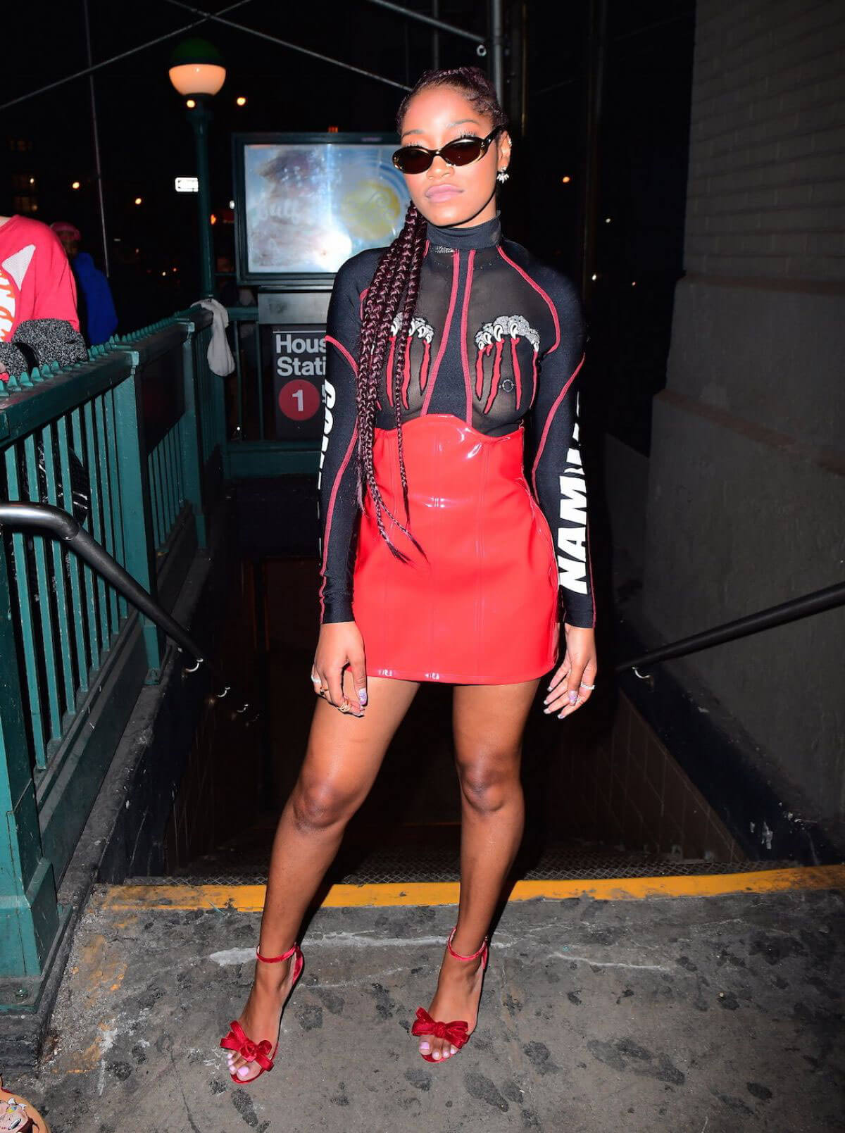 Keke Palmer Out in New York