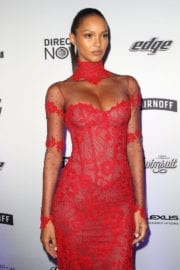 Kelly Gale Stills at Sports Illustrated Swimsuit Edition Launch in New York