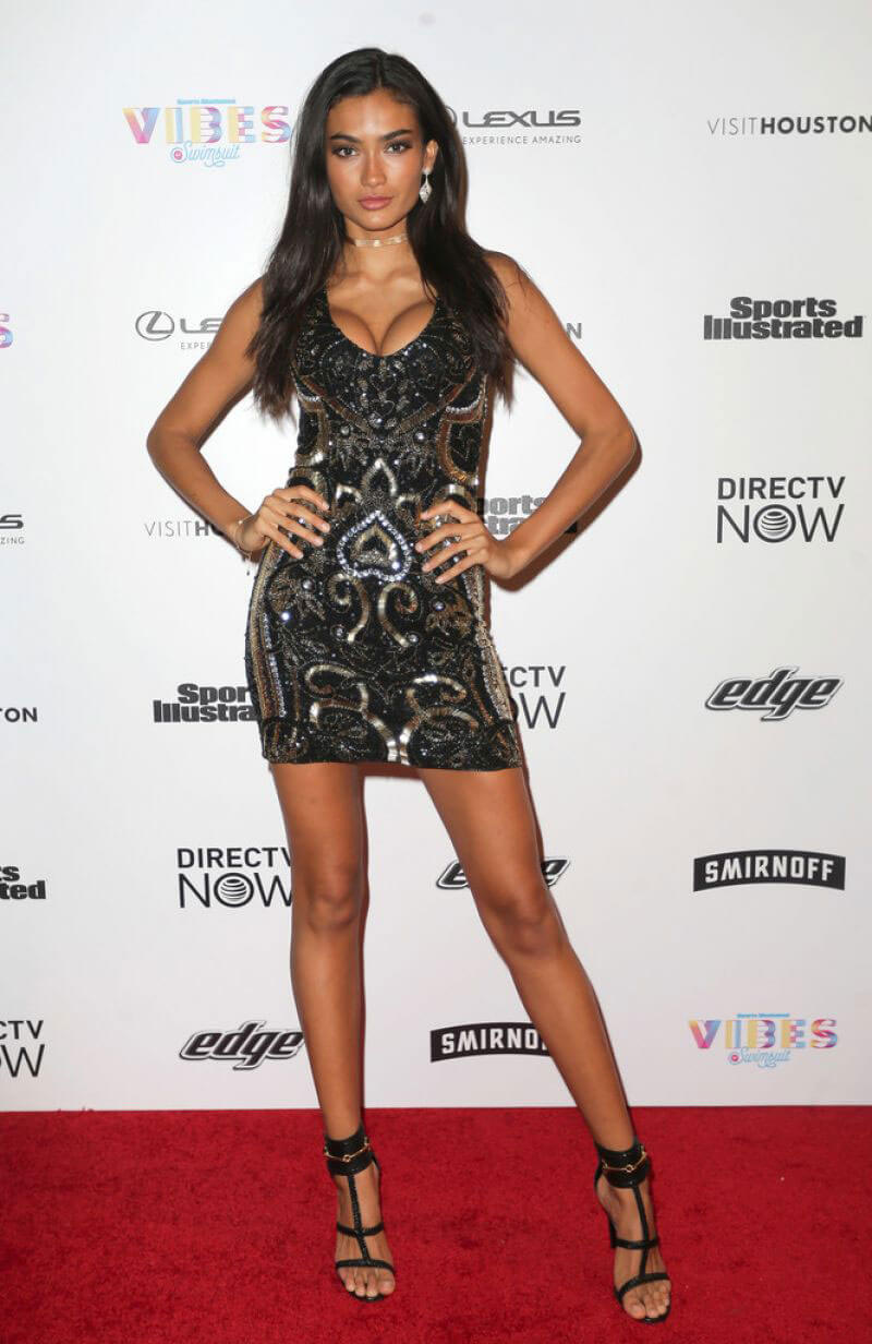 Kelly Gale Stills at Vibes by Sports Illustrated Swimsuit 2017 Launch Festival in Houston