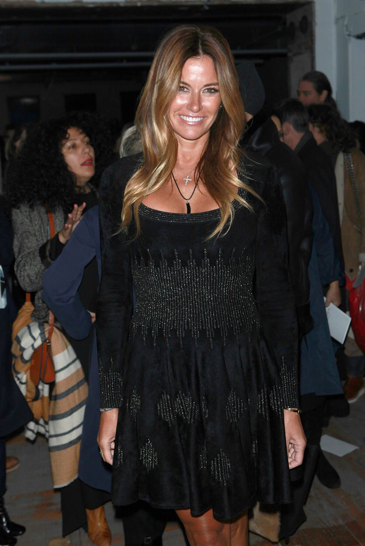 Kelly Killoren Bensimon Stills at Zac Posen Fashion Show at New York Fashion Week