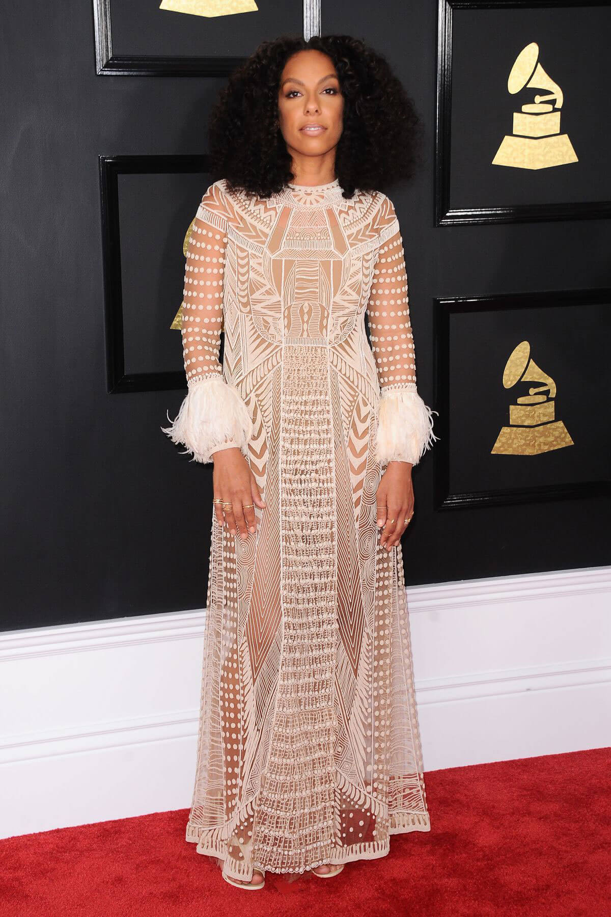 Kelly Rowland at 59th Annual Grammy Awards in Los Angeles