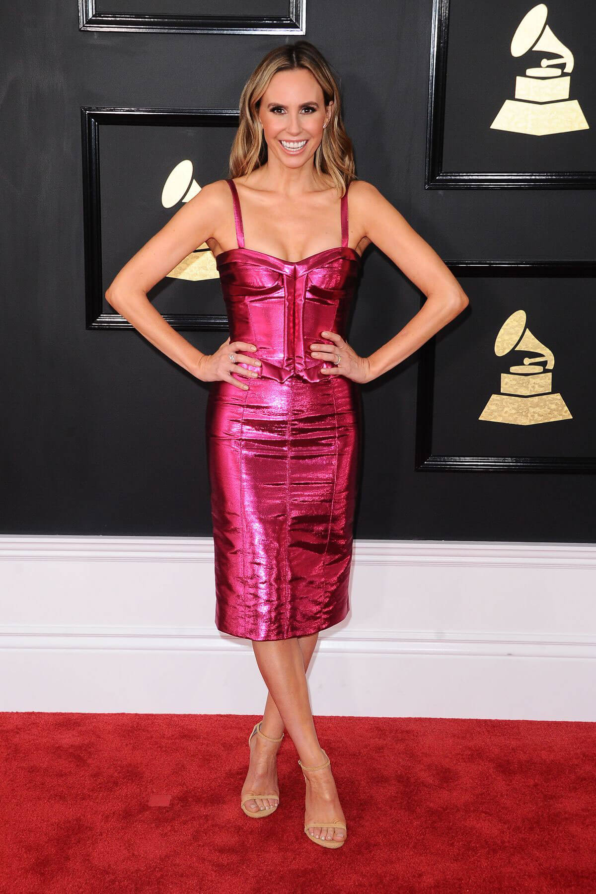 Keltie Knight at 59th Annual Grammy Awards in Los Angeles