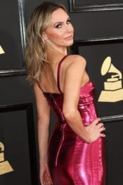 Keltie Knight at the 59th Grammy Awards held at Staples Center in Los Angeles