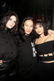 Kendall Jenner and Kylie Jenner Stills at Alexander Wang Fashion Show After Party